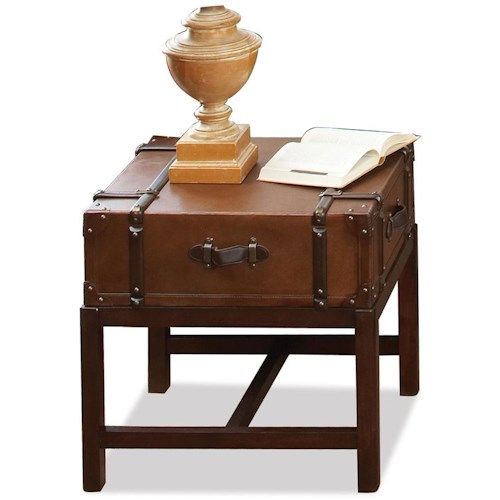 Riverside Furniture Latitudes End Table with 1 Drawer & 1 Shelf