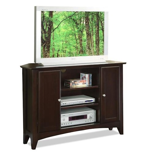 Riverside Furniture Metro II Corner TV Console