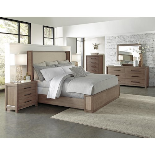 Riverside Furniture Mirabelle Queen Bedroom Group 3