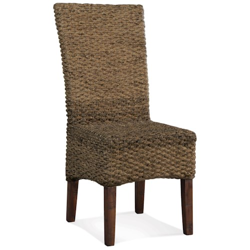 Riverside Furniture Mix-N-Match Chairs Woven Leaf Side Chair