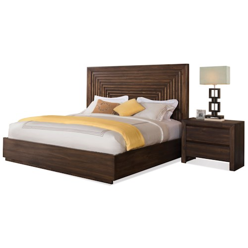 Riverside Furniture Modern Gatherings King Bedroom Group 2