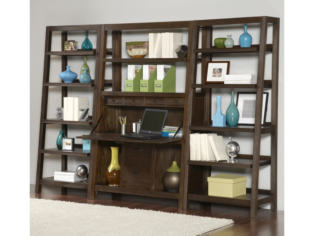 Shown with Canted Bookcase