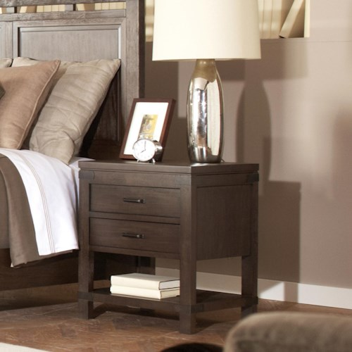 Riverside Furniture Promenade  2 Drawer Nightstand