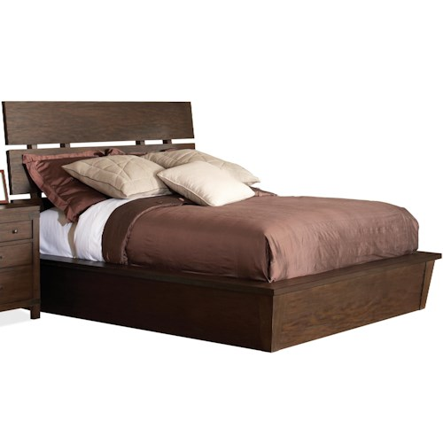 Riverside Furniture Promenade  Queen Platform Bed