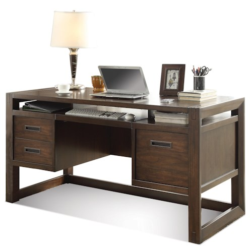 Riverside Furniture Riata Contemporary Computer Desk