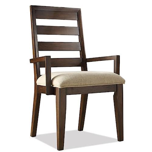 Riverside Furniture Riata Ladder Back Arm Chair