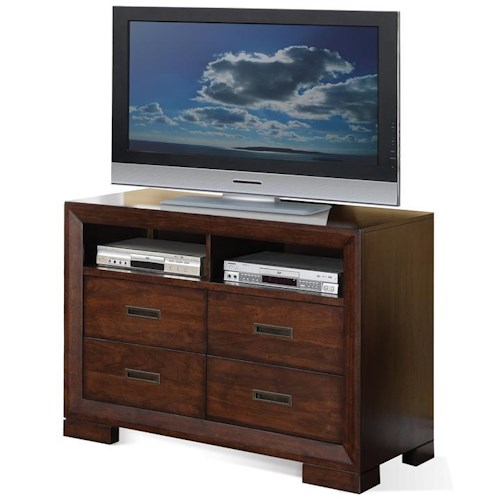 Riverside Furniture Riata Contemporary Media Chest