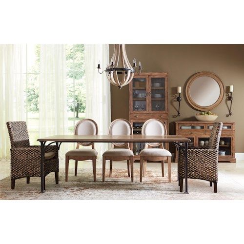 Riverside Furniture Sherborne Formal Dining Room Group 2