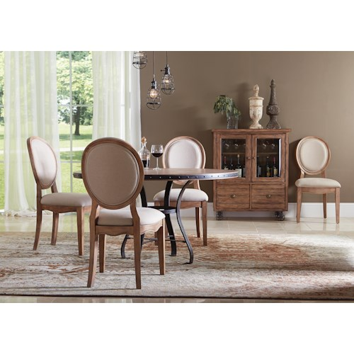 Riverside Furniture Sherborne Casual Dining Room Group 2