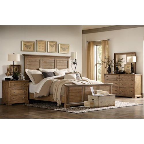 Riverside Furniture Sherborne California King Bedroom Group 2