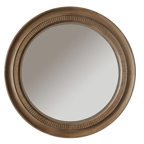 Riverside Furniture Sherborne Round Accent Wall Mirror