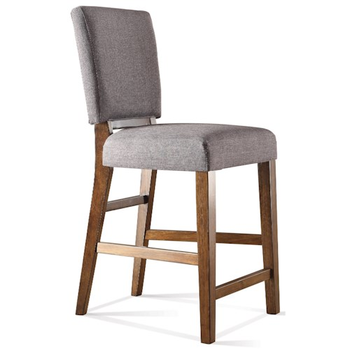 Riverside Furniture Terra Vista Upholstered Counter Stool