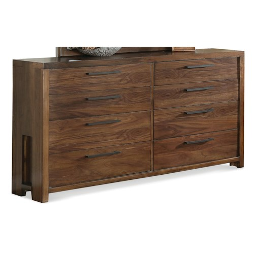Riverside Furniture Terra Vista Eight Drawer Dresser w/ Cedar Drawers