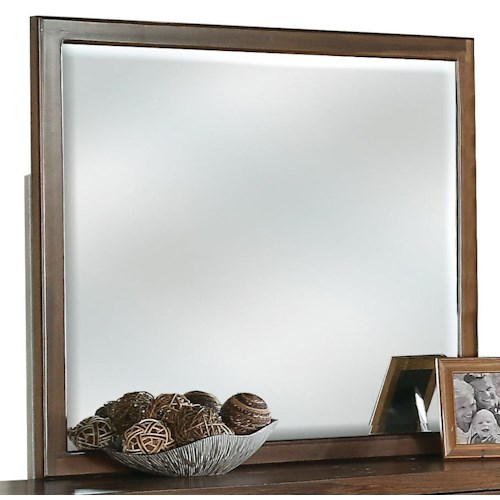 Riverside Furniture Terra Vista Beveled Landscape Mirror