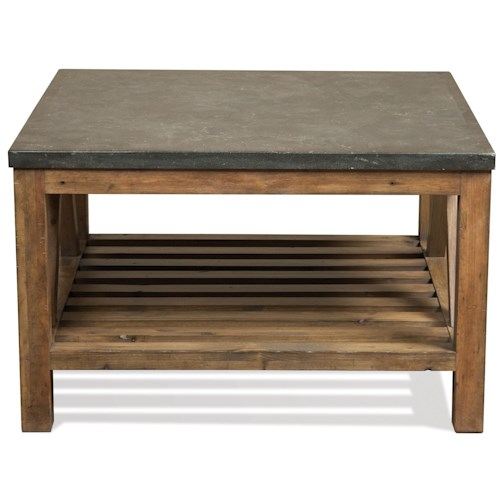 Riverside Furniture Weatherford Bunching Cocktail Table