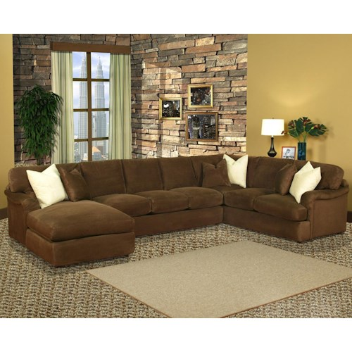Robert Michael Mainstreet Chaise and Sofa Section