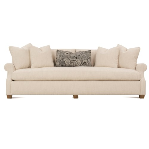 Robin Bruce Bristol Contemporary 98'' Sofa with Bench Seat