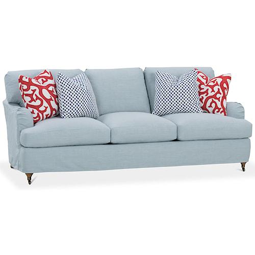 Robin Bruce Brooke 86 Inch Slipcover Sofa