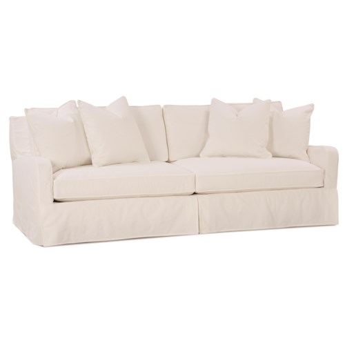 Robin Bruce Havens Casual Sofa with Slipcover