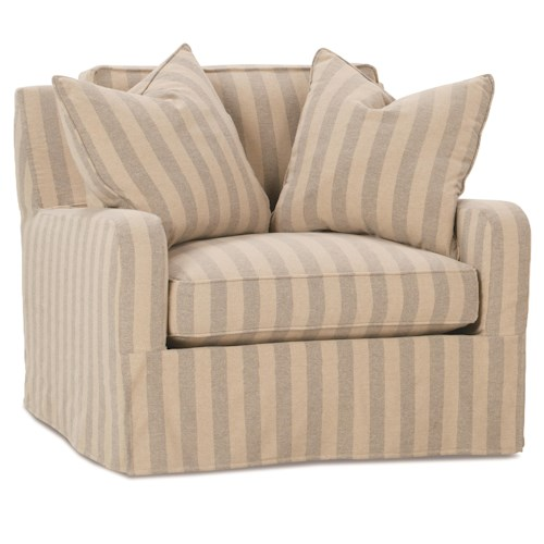 Robin Bruce Havens Casual Chair with Slipcover