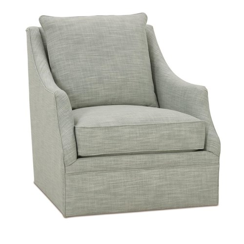 Robin Bruce Kara Swivel Chair with Wing Back