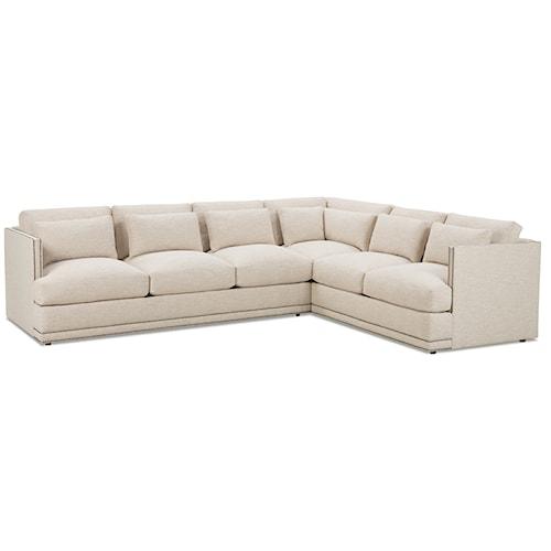 Robin Bruce Oscar Contemporary Sectional Sofa Group
