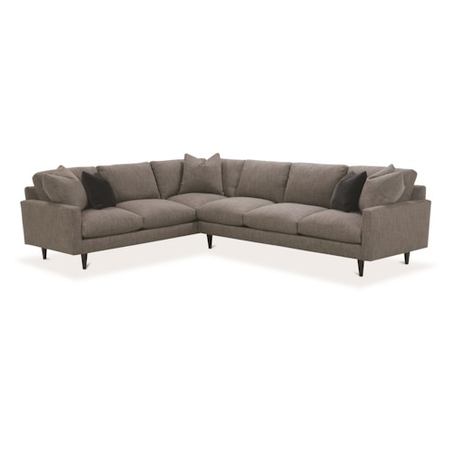 Robin Bruce Oslo Contemporary Sectional Sofa