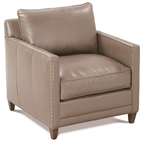 Robin Bruce Springfield Transitional Chair with Nailhead Trim