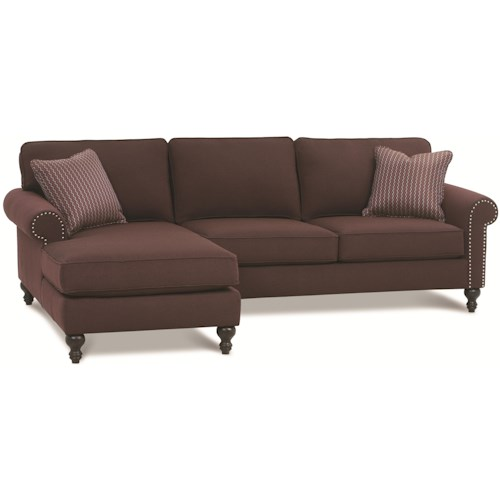 Rowe Bleeker - RXO <b>Customizable</b> Left Chaise Sectional Sofa