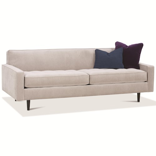 Rowe Brady  Contemporary Sofa With Track Arms