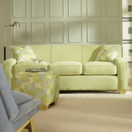 Rowe Horizon Three Seat Fabric Sofa