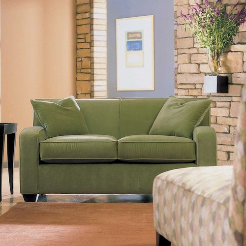 Rowe Horizon Two Seat Fabric Loveseat