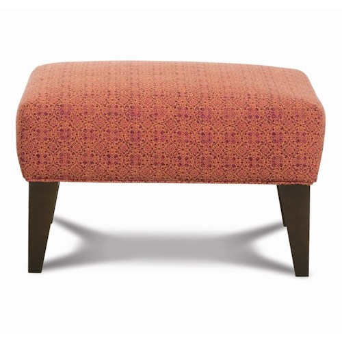 Rowe Chairs and Accents Roma Contemporary Ottoman