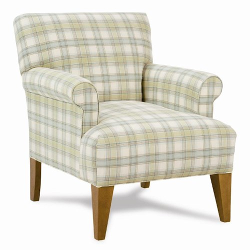 Rowe Chairs and Accents Contemporary Upholstered Roma Chair