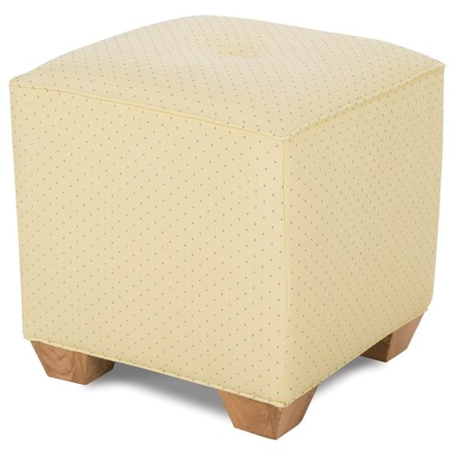 Rowe Chairs and Accents Le Parc Upholstered Ottoman