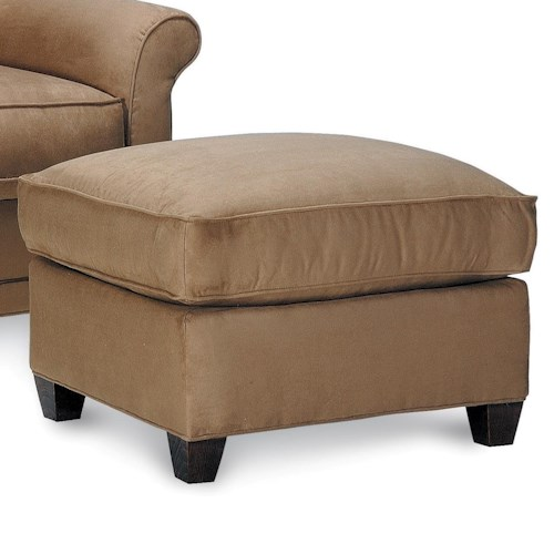 Rowe Chairs and Accents Resilient Pillow Top Ottoman