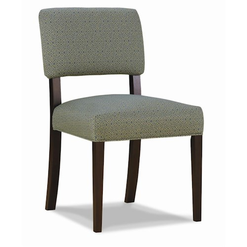 Rowe Chairs and Accents Kinsey Upholstered Side Dining Room Chair