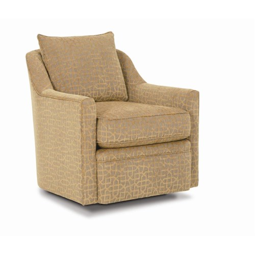 Rowe Chairs and Accents Hollins 360 Degree Swivel Chair