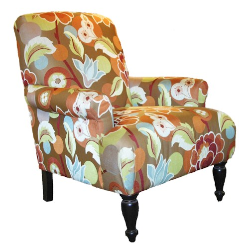 Rowe Chairs and Accents Salem High Back Chair