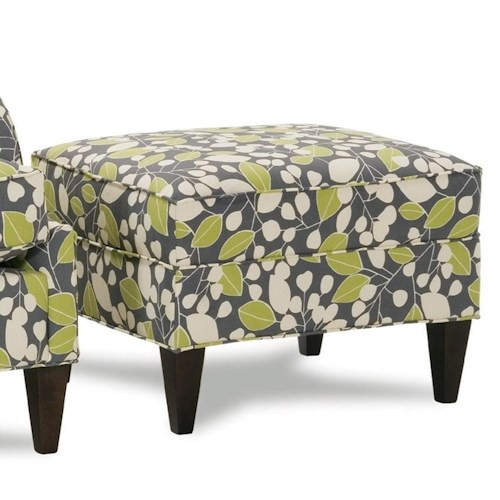 Rowe Chairs and Accents Laine Plush Ottoman