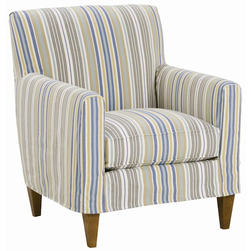Rowe Chairs and Accents Ellery Slipcovered Chair