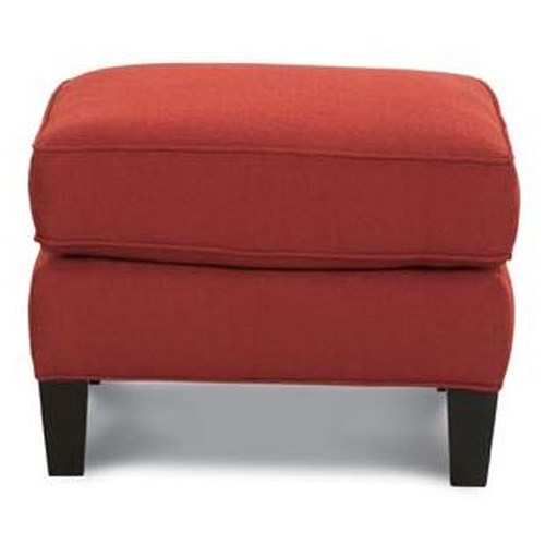 Rowe Chairs and Accents McGuire Upholstered Ottoman