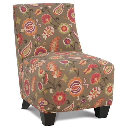 Rowe Chairs and Accents Palmer Upholstered Slipper Chair