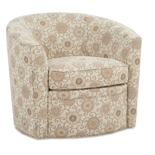 Rowe Chairs and Accents Baldwin Upholstered Swivel Chair