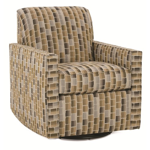 Rowe Chairs and Accents Oakley Swivel Glider Chair