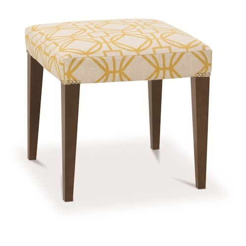Rowe Chairs and Accents Helena Bench Ottoman with Nailhead Trim
