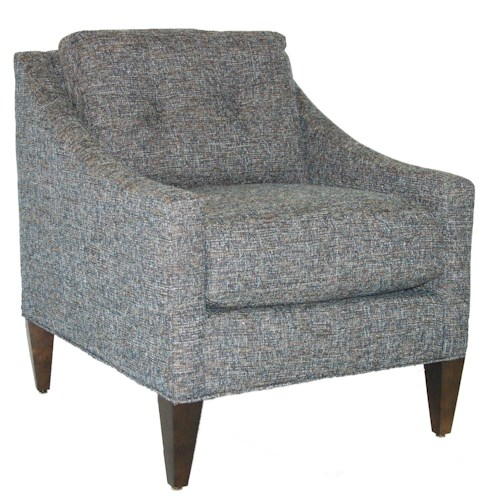 Rowe Chairs and Accents Tufted Pillow Back Chair