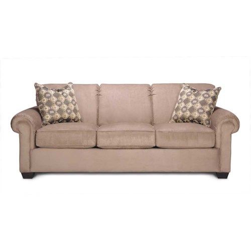 Rowe Woodrow Three Over Three Sofa