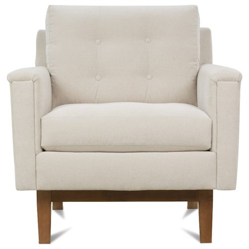 Rowe Ethan  Mid-Century Modern Upholstered Chair