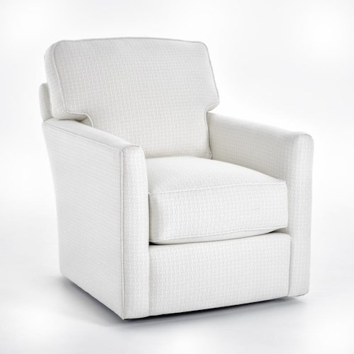 Rowe Evan Contemporary Swivel Chair